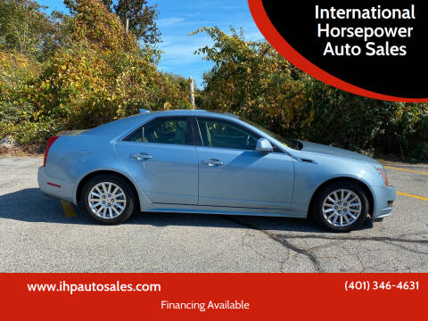 2013 Cadillac CTS for sale at International Horsepower Auto Sales in Warwick RI