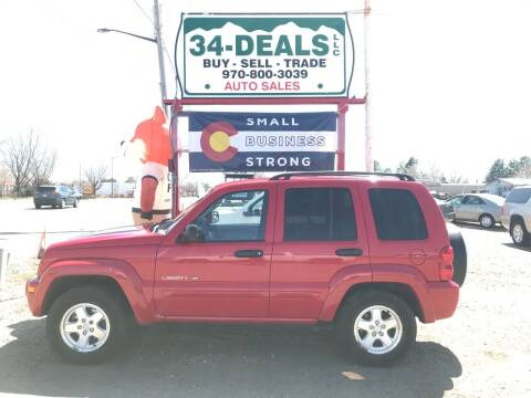 2003 Jeep Liberty for sale at 34 Deals LLC in Loveland CO