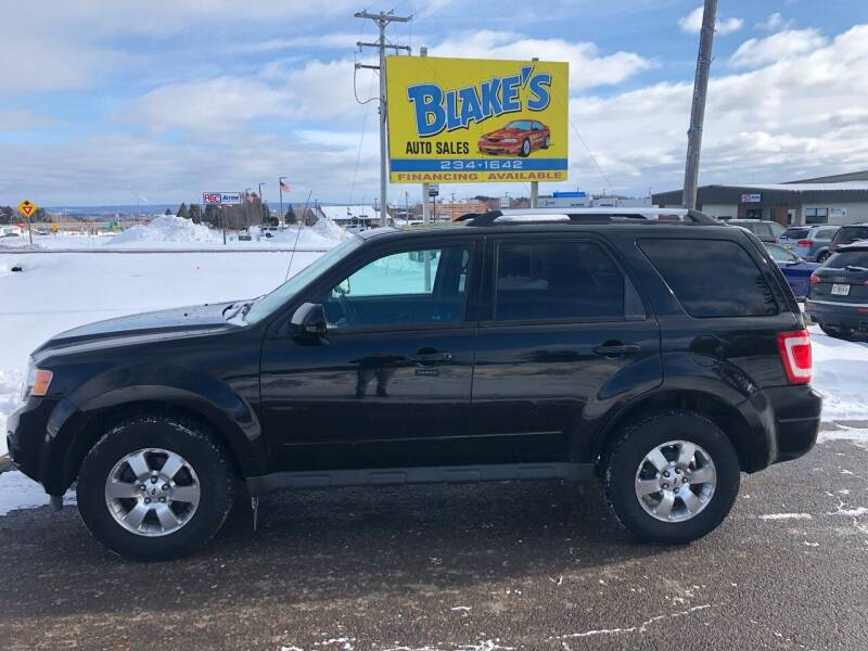 2012 Ford Escape for sale at Blakes Auto Sales in Rice Lake WI