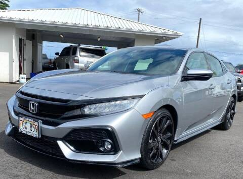 2018 Honda Civic for sale at PONO'S USED CARS in Hilo HI