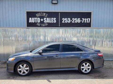 2007 Toyota Camry for sale at Austin's Auto Sales in Edgewood WA