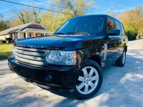 2008 Land Rover Range Rover for sale at E-Z Auto Finance in Marietta GA
