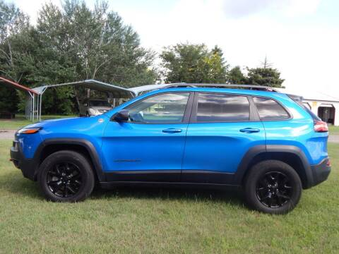 2018 Jeep Cherokee for sale at Wheels Unlimited in Smith Center KS
