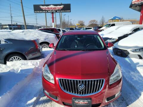 2013 Buick Regal for sale at Washington Auto Group in Waukegan IL