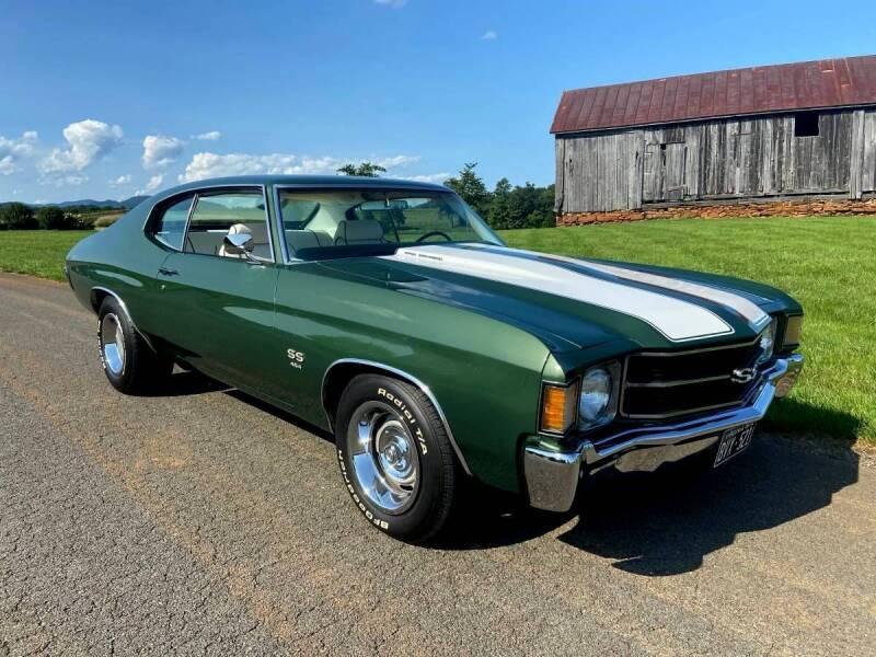 1972 Chevrolet Chevelle for sale at Black Tie Classics in Stratford NJ
