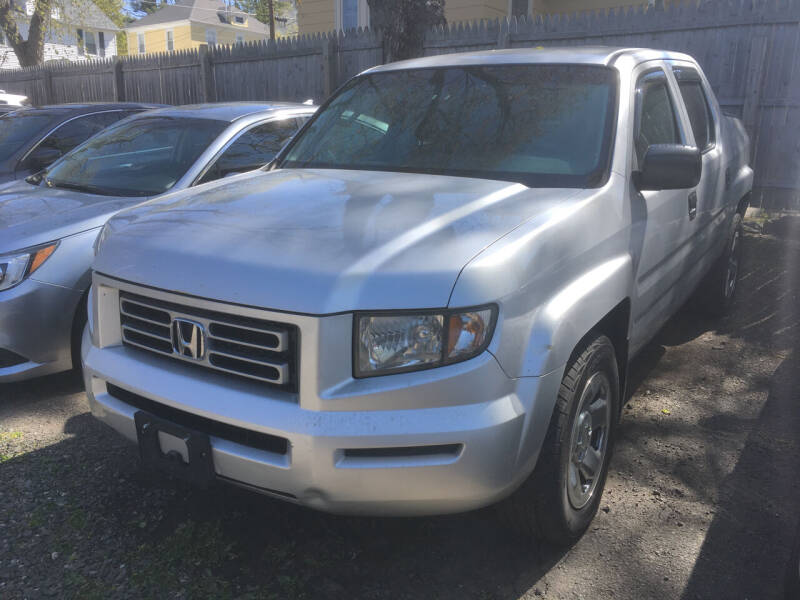 2007 Honda Ridgeline for sale at MELILLO MOTORS INC in North Haven CT