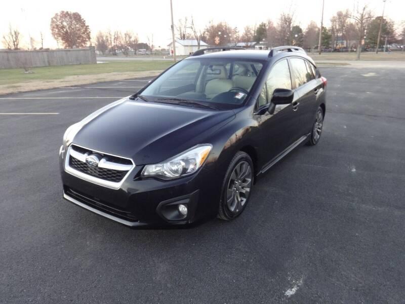 2012 Subaru Impreza for sale at Just Drive Auto in Springdale AR