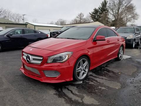 2014 Mercedes-Benz CLA for sale at Ridgeway's Auto Sales in West Frankfort IL