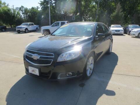 2013 Chevrolet Malibu for sale at Aztec Motors in Des Moines IA