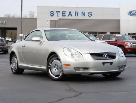 2002 Lexus SC 430 for sale at Stearns Ford in Burlington NC