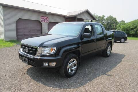 2009 Honda Ridgeline for sale at Clearwater Motor Car in Jamestown NY