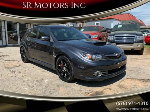 2008 Subaru Impreza for sale at SR Motors Inc in Gainesville GA