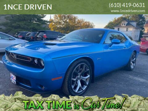 2015 Dodge Challenger for sale at 1NCE DRIVEN in Easton PA