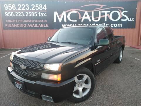 2004 Chevrolet Silverado 1500 SS for sale at MC Autos LLC in Pharr TX