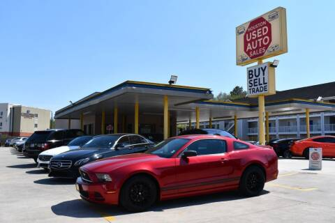 2013 Ford Mustang for sale at Houston Used Auto Sales in Houston TX