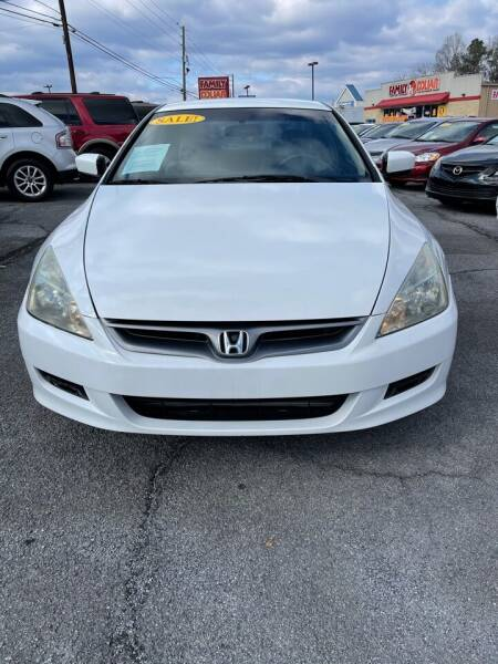 2007 Honda Accord for sale at SRI Auto Brokers Inc. in Rome GA