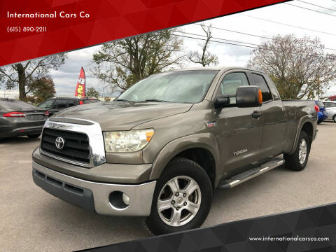 2008 Toyota Tundra for sale at International Cars Co in Murfreesboro TN