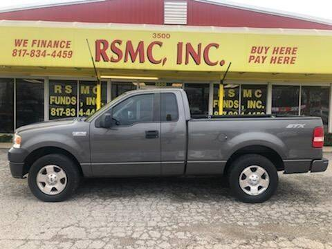 2007 Ford F-150 for sale at Ron Self Motor Company in Fort Worth TX