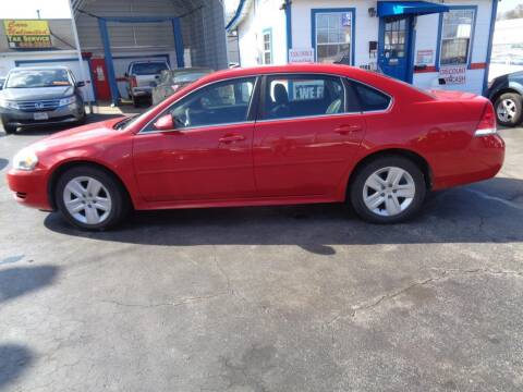 2010 Chevrolet Impala for sale at Cars Unlimited Inc in Lebanon TN