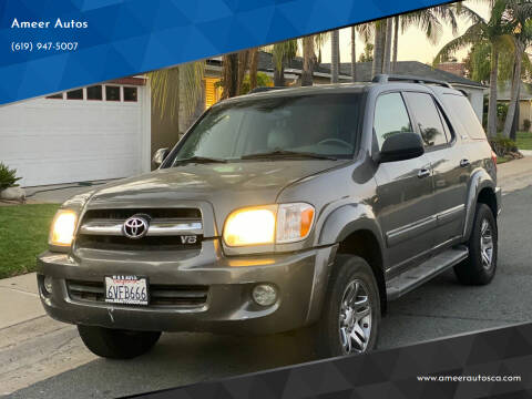 2006 Toyota Sequoia for sale at Ameer Autos in San Diego CA