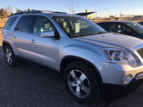 2009 GMC Acadia for sale at Drive Chevrolet Buick Rugby in Rugby ND