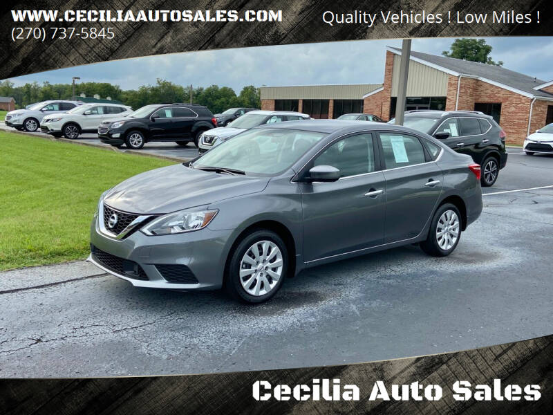 2019 Nissan Sentra for sale at Cecilia Auto Sales in Elizabethtown KY