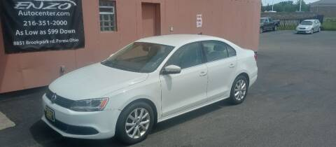 2014 Volkswagen Jetta for sale at ENZO AUTO in Parma OH