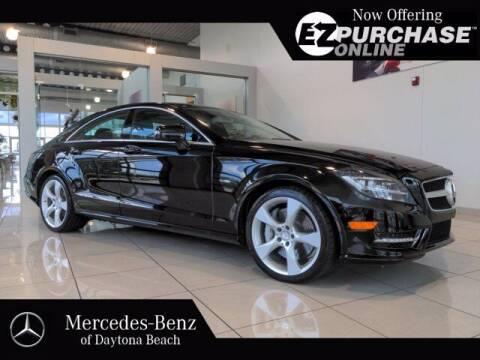2012 Mercedes-Benz CLS for sale at Mercedes-Benz of Daytona Beach in Daytona Beach FL