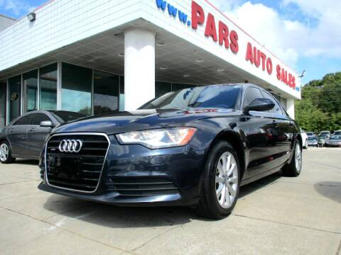 2013 Audi A6 for sale at Pars Auto Sales Inc in Stone Mountain GA