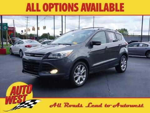 2015 Ford Escape for sale at Autowest of Plainwell in Plainwell MI