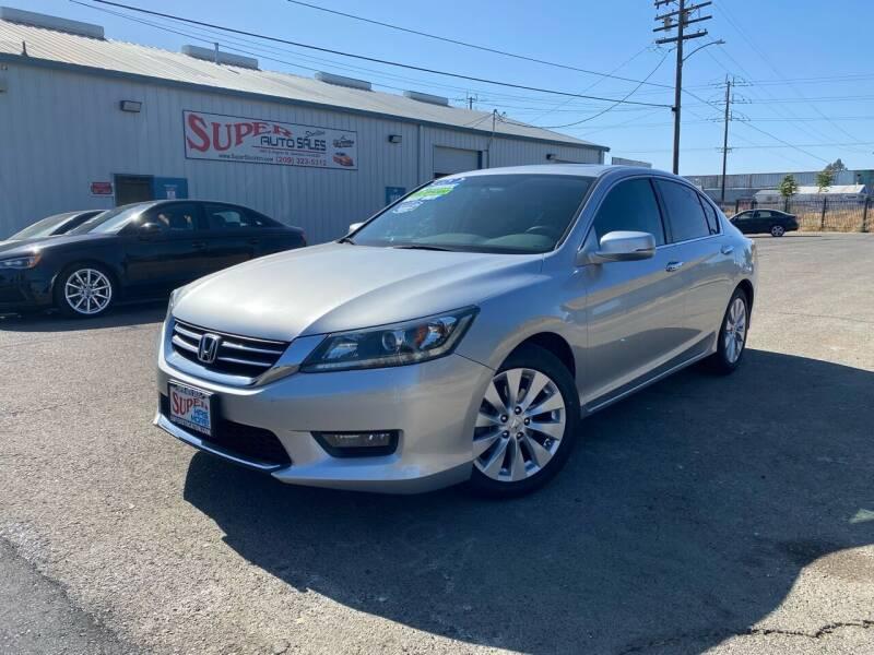 2015 Honda Accord for sale at SUPER AUTO SALES STOCKTON in Stockton CA