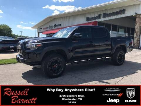 2018 Toyota Tacoma for sale at Russell Barnett Chrysler Dodge Jeep Ram in Winchester TN