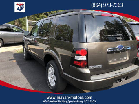 2008 Ford Explorer for sale at Mayan Motors Easley in Easley SC