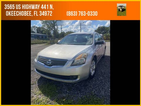 2009 Nissan Altima for sale at M & M AUTO BROKERS INC in Okeechobee FL