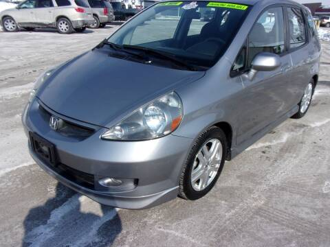 2007 Honda Fit for sale at Ideal Auto Sales, Inc. in Waukesha WI