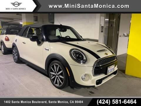 2018 MINI Convertible for sale at MINI OF SANTA MONICA in Santa Monica CA