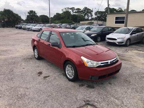 2010 Ford Focus for sale at Friendly Finance Auto Sales in Port Richey FL