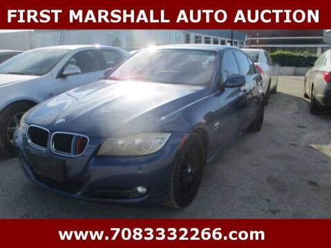 2009 BMW 3 Series for sale at First Marshall Auto Auction in Harvey IL