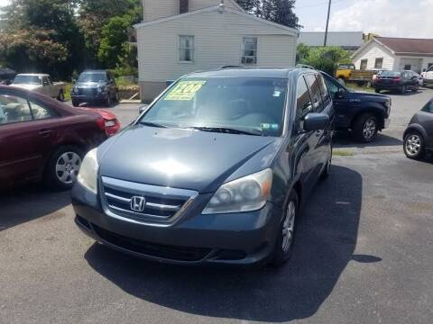 2005 Honda Odyssey for sale at Credit Connection Auto Sales Inc. CARLISLE in Carlisle PA
