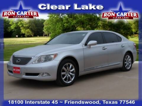 2007 Lexus LS 460 for sale at Ron Carter  Clear Lake Used Cars in Houston TX