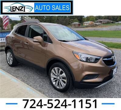 2017 Buick Encore for sale at LENZI AUTO SALES in Sarver PA