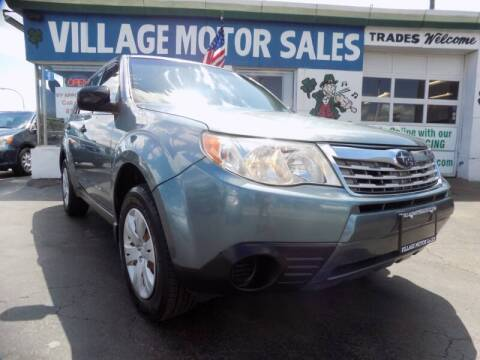 2010 Subaru Forester for sale at Village Motor Sales in Buffalo NY