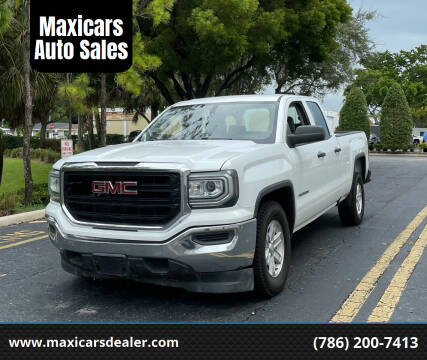 2016 GMC Sierra 1500 for sale at Maxicars Auto Sales in West Park FL