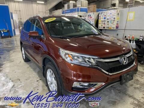 2016 Honda CR-V for sale at KEN BARRETT CHEVROLET CADILLAC in Batavia NY