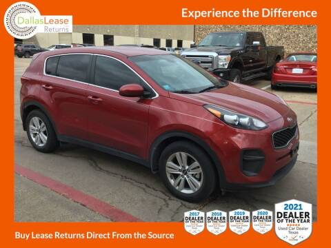 2018 Kia Sportage for sale at Dallas Auto Finance in Dallas TX