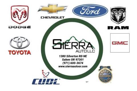 2001 Chevrolet Silverado 1500 for sale at SIERRA AUTO LLC in Salem OR