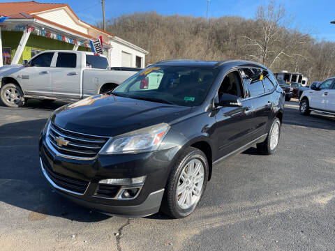 2014 Chevrolet Traverse for sale at PIONEER USED AUTOS & RV SALES in Lavalette WV