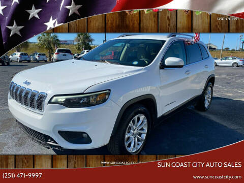 2019 Jeep Cherokee for sale at Sun Coast City Auto Sales in Mobile AL