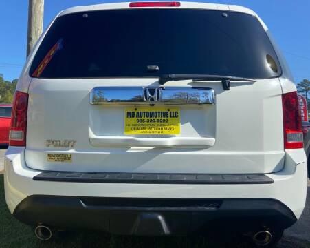 2013 Honda Pilot for sale at MD AUTOMOTIVE LLC in Slidell LA