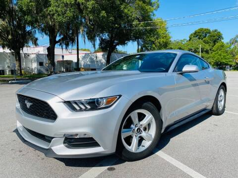 2017 Ford Mustang for sale at CHECK  AUTO INC. in Tampa FL